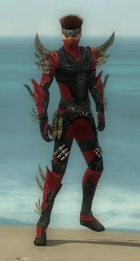Assassin Elite Imperial Armor M dyed front