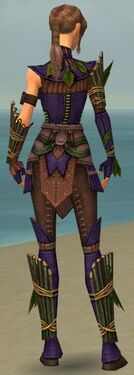 Ranger Druid Armor F dyed back