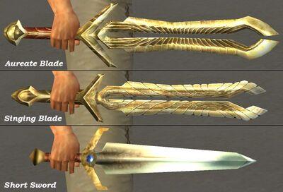 Aureate Singing Blade Comparison