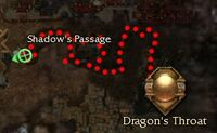 Shadows Passage map