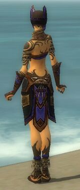 Ritualist Monument Armor F dyed back
