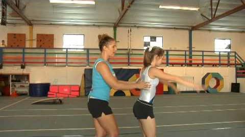 Gymnastics How to Do a Backflip on the Ground