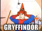 You're a spider, harry