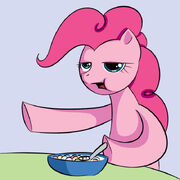 Pinkie cereal guy