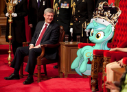 51360 safe lyra ponies-in-real-life queen sitting-lyra
