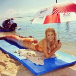 Amy Under Umbrella