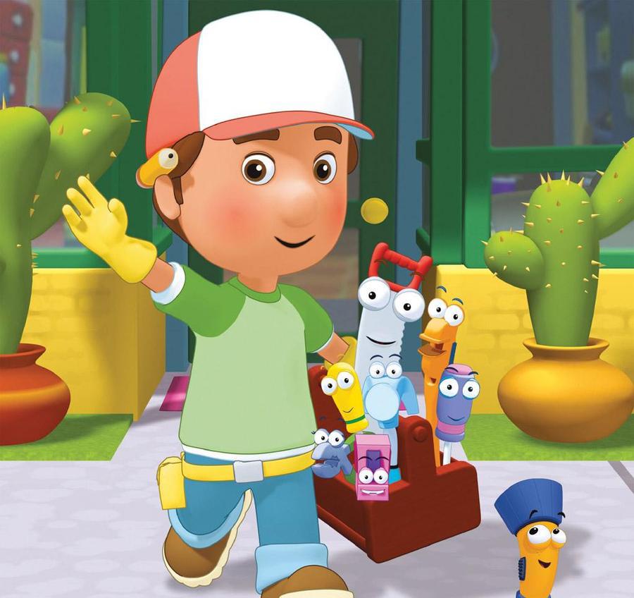 Handy Manny Fix It Dog Toy