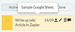 Zapier-GoogleLoadToDo FinalTask