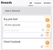 Rearranging A Reward