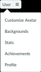 Toolbar User Tab