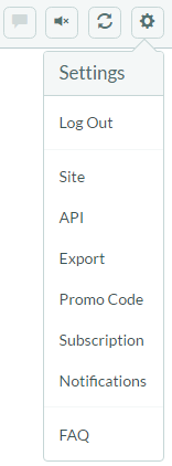 Toolbar 3.0 settings