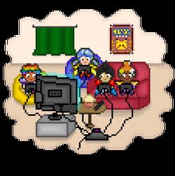 Scene video games