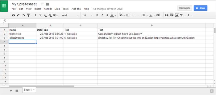 Zapier-SampleGuildChat FinalGoogleSheet