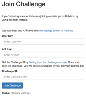 Join challenge