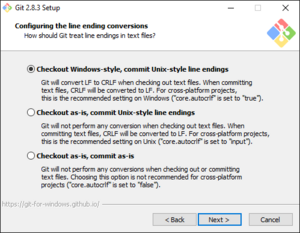 Windows Git Setup
