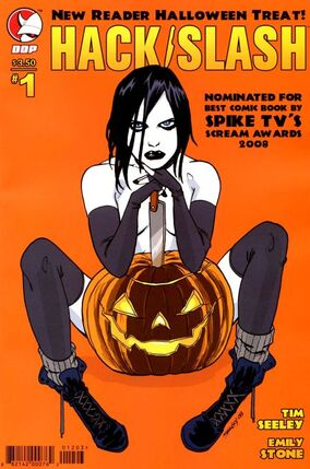 Hack slash new reader halloween treat cover a