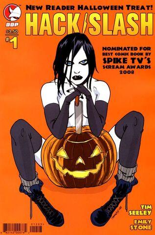 File:Hack slash new reader halloween treat cover a.jpg