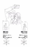Genta Okuda & Hiromi Takanashi CharaProfile