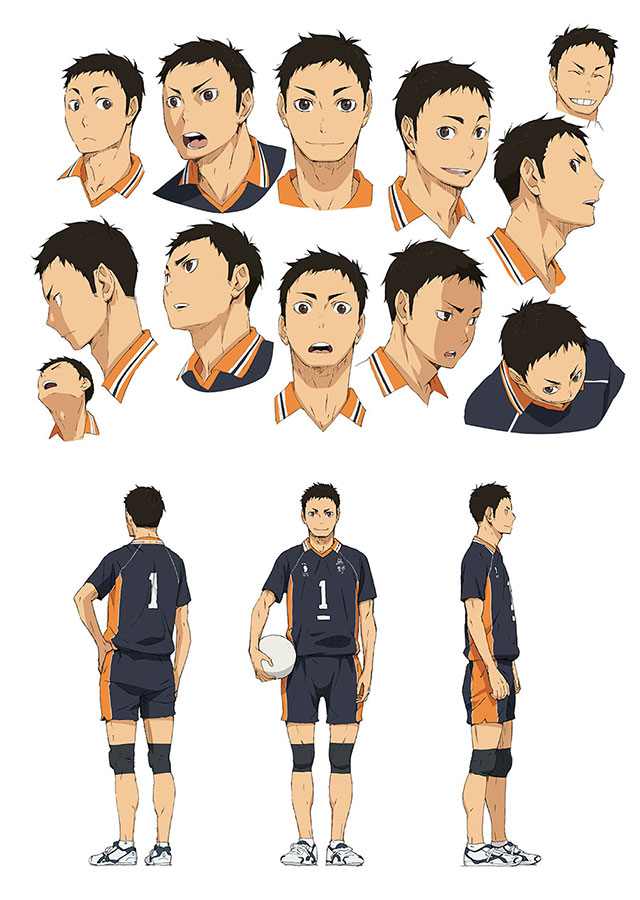 Character Design Wiki : Image sawamura character design g haikyuu wiki