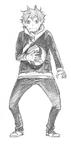 Shouyou Hinata Sketch