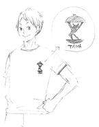Akiteru and His T-shirt