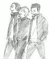 Daichi, Asahi, and Suga Walking Together.png