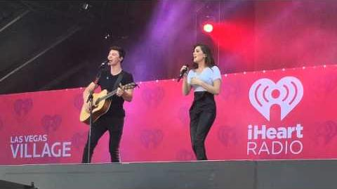 Stitches - Shawn Mendes and Hailee Steinfeld (iHeart Radio Music Festival 2015)