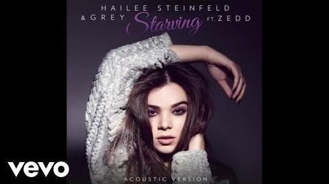 Hailee Steinfeld, Grey - Starving (Acoustic Audio) ft. Zedd