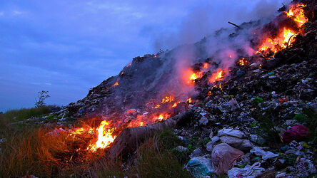 Trash Heap Burning