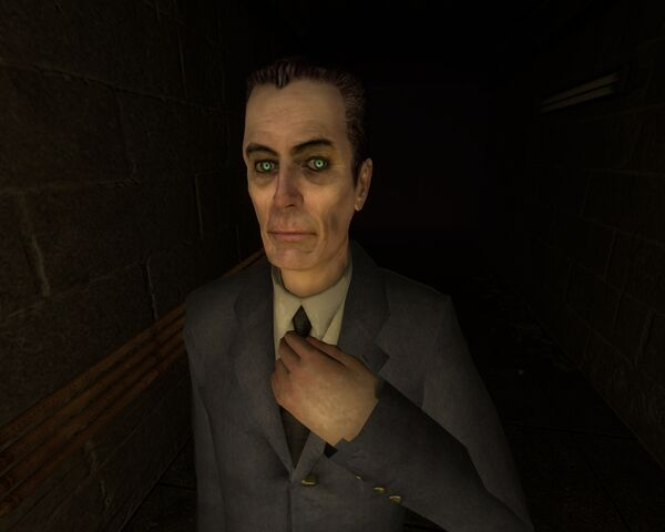 File:GMan at Black Mesa.jpg