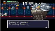Goddess of Judgement battle