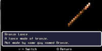 Bronze Lance