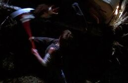 Laurie beheads 'michael'
