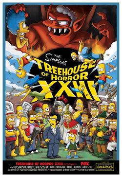 Treehouse of Horror XXIII