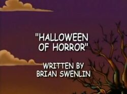 Halloween of Horror title card