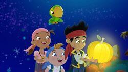 JakeandtheNeverLand Pirates Night of the Golden Pumpkin