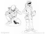 HCE-Marine troops