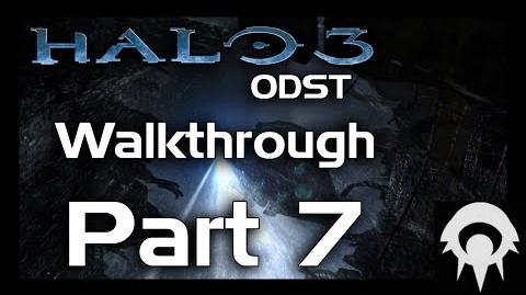 Halo 3 ODST Walkthrough - Part 7 - Data Hive - No Commentary