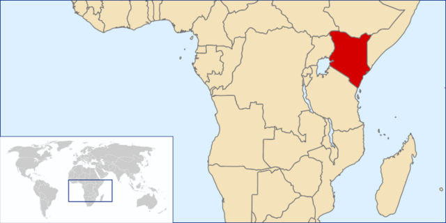 File:Location of the Republic of Kenya.png