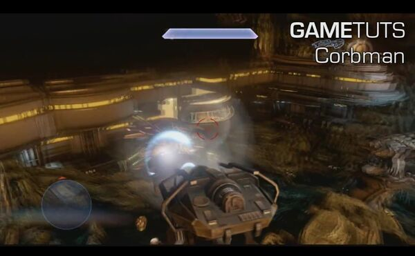 USER Halo 4 Mark 2488 Magnetic Accelerator Cannon being used