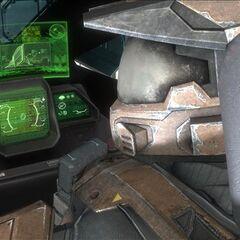 军刀战斗机的控制面板(显示器)。