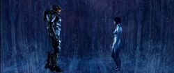 Master Chief and Cortana in the Void