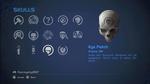 HCEA Eye Patch Skull