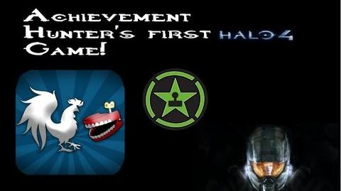 Achievement Hunter's first halo 4 game! - Unseen footage