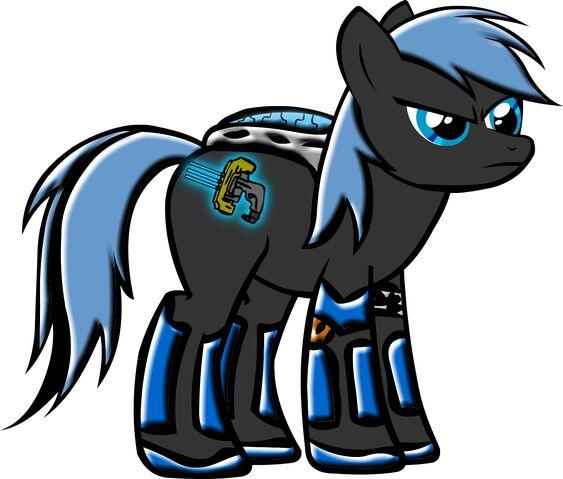 File:Isaac Clarke RIG Pony.jpg