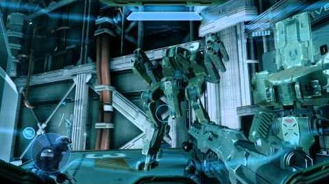 "Halo 4 Mantis Testing - (""Inverted"" Marine Dialogue Egg)"