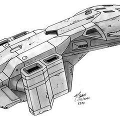 Führer Design des Pelican in Halo: kampf um die Zukunft