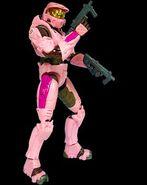 X spartan pink
