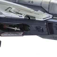 这张设计图展现了军刀战斗机导弹发射架的细节。