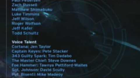 Halo: Combat Evolved credits